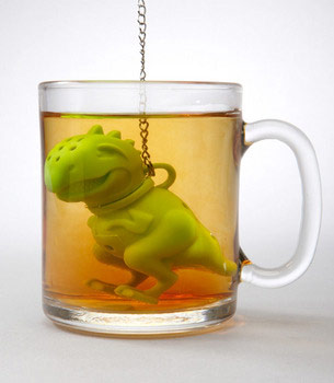 Tea Rex Tea Infuser One More Gadget 2 The Tea Rex Tea Infuser has tasty tea making down to a T