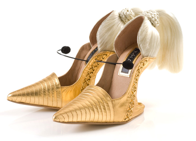 blonde ambition high heel shoes one more gadget The Greatest List of the Craziest High Heels, OMG Shoes, Part Deux.