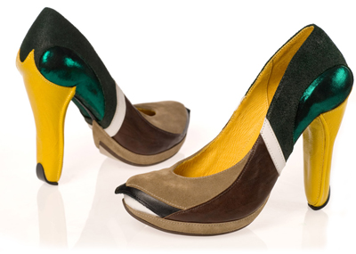 duck high heel shoe design one more gadget The Greatest List of the Craziest High Heels, OMG Shoes, Part Deux.