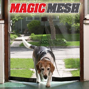 Dog and Magic Mesh