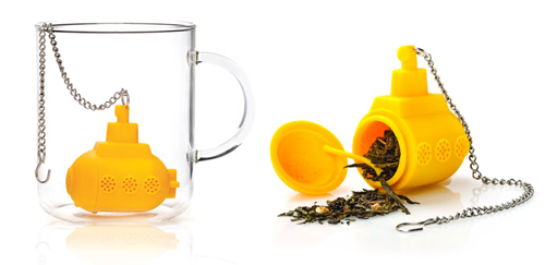 yellow submarine tea infuser one more gadget The Greatest List of the Coolest Tea Infusers Around