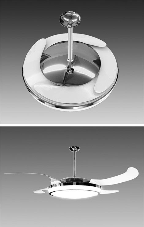 fanaway retractable ceiling fan Well Im a fan   The New Fanaway Ceiling Fan with Retractable Blades is awesome