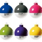 Pantone Christmas Ball Ornaments are drool-worthy