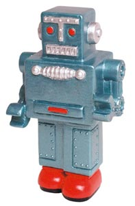 Retro Robot One More Gadget Stress Ball