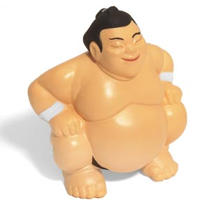 sumo wrestler promo stress ball The Greatest List of the Most Unique Promotional Stress Balls Around