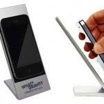 what gravity phone holder 150x150 Antibacterial pen? Thats sick!