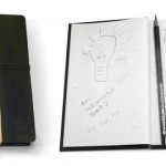 Waterproof Notebook gets wet and keeps your words dry