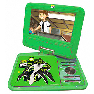 ben 10 portable dvd player A Kid Friendly Gadget List for Christmas