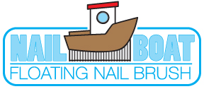 boatnailbrush What floats, looks like a boat and cleans nails? A Boat Nail Brush, obviously