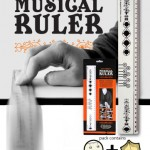dan wiedens musical ruler one more gadget 150x150 A throw back to your youth, literally, with a Postcard Aeroplane