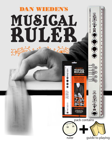 dan wiedens musical ruler one more gadget Making sweet sweet music has its own rules, with this awesome musical ruler