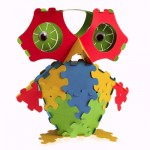 polypuzzle owl 150x150 Play More: Ball Paper Garbage