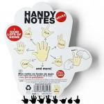 Hand Signs Sticky Notes Pad 150x150 Floppy Disk Sticky Note Pads are sticking it old school