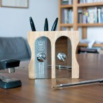 Sharpen up your tidying skills with the Sharpener Desk Organizer