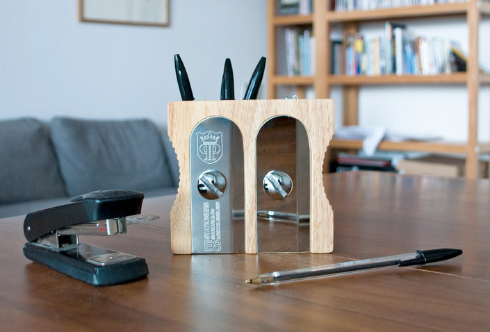 Sharpener Desk Tidy Sharpen up your tidying skills with the Sharpener Desk Organizer