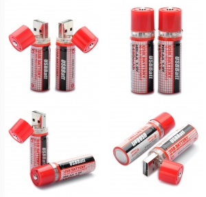 AA USB Batteries Charge up on awesome, USB Rechargeable AA Batteries