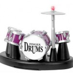 And the beat goes on with this super cool finger drum set