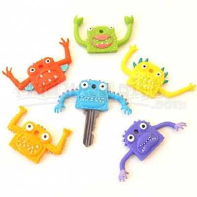 freakeys key covers Give your keys some personality and tell them apart with Monster key covers