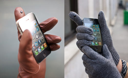 glove tips on gloves Keep your gloves on and answer the call with Touchscreen Glove Tips