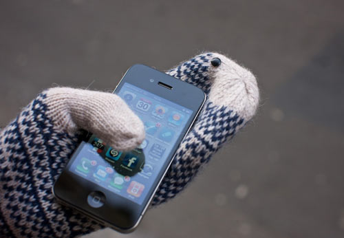 glove tips on mittens Keep your gloves on and answer the call with Touchscreen Glove Tips
