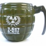 grenade mug 150x150 Designer coffees deserve a designer coffee mug, its a Zebra Purse mug for the fashionable coffee drinker