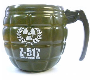 grenade mug The manliest coffee mug of all time, The Hand Grenade Coffee Mug
