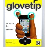 touchscreen glove tips 150x150 Waterproof gloves and socks literally get soaked and stay dry