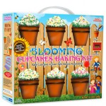blooming cupcakes flower pot baking kit 150x150 Miniature Concrete Planters look like little buildings