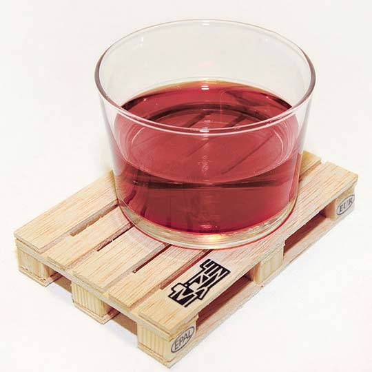 palette drink coasters details Wooden Palette It Drink Coasters for the really heavy drinkers