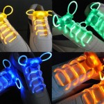 light up shoelaces 150x150 Tron ish? A backyard Badminton Game lights up the night