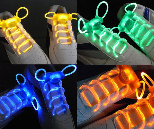 light up shoelaces Yes I have these and they are rad, LED Light Up Shoelaces