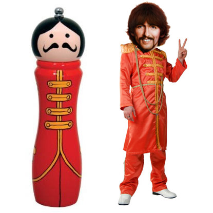 sergeant pepper grinder mill Has got to be the best of The Beatles, the Sergeant Pepper Grinder