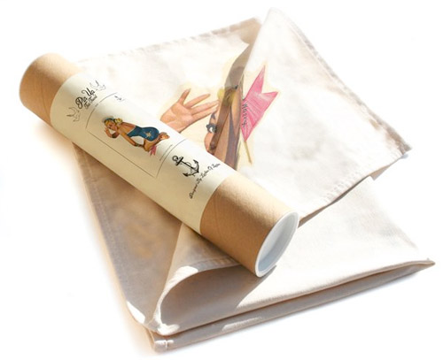 pinup girl towel tube Love it. A Retro Pinup Tea Towel so nice youll pin it up