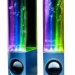 dancing water speakers one more gadget 150x150 No fish were harmed in the making of this Goldfish Bathtub Plug