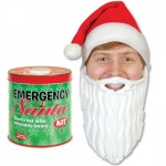 Emergency Santa Kit 150x150 Digruntled Elf Fridge Magnets, tell the big man in red just where to stick it