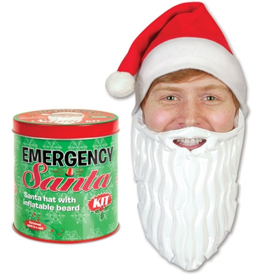 Emergency Santa Kit Need a Santa in a hurry? Get this Emergency Santa Kit