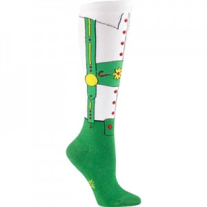 F0181 2T 300x300 Sock it to me! Tacky Christmas Socks now rival the Ugly Christmas Sweater