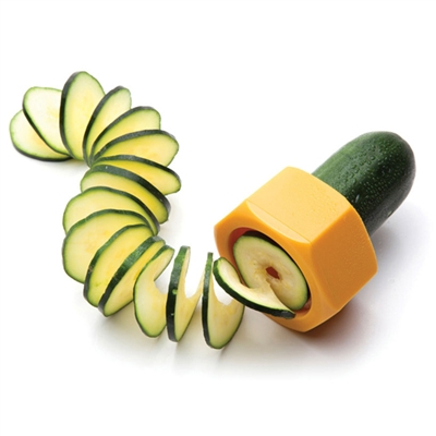 cucumber spiral slicer one more gadget Turn your cucumbers into slinkies with the Cucumbo Spiral Slicer