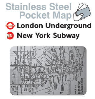 Subway Map New York Directions.Give Directions That Are Practically Bulletproof With Stainless